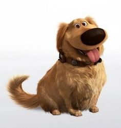 I'd like to think my dog, Buster, would sound just like Dug if he could talk.