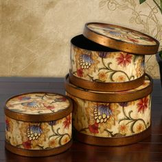 Tuscan Box Containers