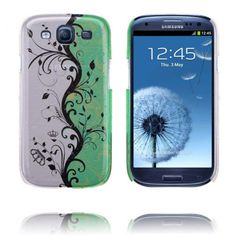 Twin Garden (Vihreä) Samsung Galaxy S3 Suojakuori - http://lux-case.fi/twin-garden-vihrea-samsung-galaxy-s3-suojakuori.html