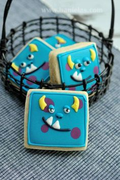 Sully / Monsters Inc (Square Cookie Cutter)