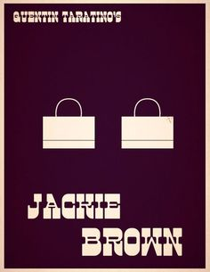 Jackie Brown-Inspired Art film, fav movi, quentin tarantino, movi room, movi poster, awesom movi, tarantino inspir