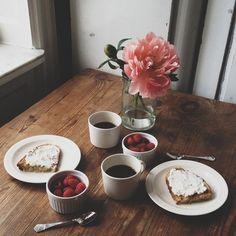 Ricotta breakfast.