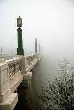 Beautiful photo of the Gervais Street Bridge in Columbia, SC.
