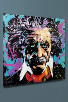 David Garibaldi- Einstein garibaldi einstein, cultur art, edit gicle, edit art, einstein emc2, albert einstein, rack, david garibaldi, limit edit
