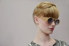 Backstage at Cacharel SS13.