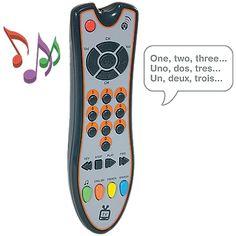 Kids Talking TV Toy Remote