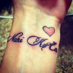 Life is beautiful. #hawaiian #wrist #tattoo
