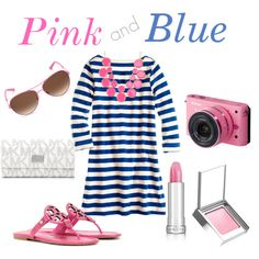 Pink and Navy! Love this!!!!