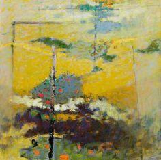 the sky below ~ oil on canvas ~rick stevens