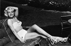 You don't have to be pencil-thin to be able to wear a bikini. Take inspiration from Marilyn Monroe!