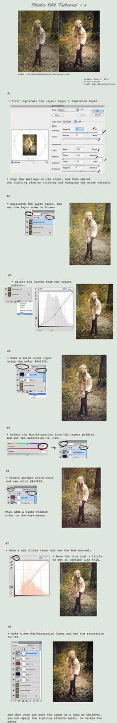 Editing tutorial. - Click image to find more Photography Pinterest pins