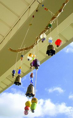 wind chimes, hand made, homemad windchim