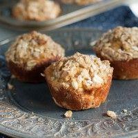 Banana Oat Streusel Muffins