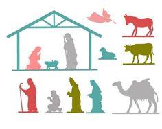 Free Nativity Printables by the36thavenue.com