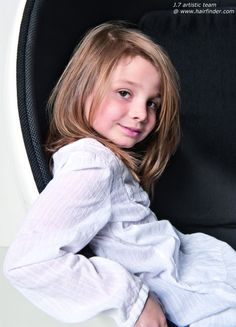 """Layered haircut - for my little girl who wants long hair like """"Rapunzel"""" but I want a little style to it."""
