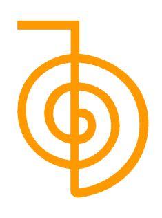Reiki symbol.. Choku Rei .