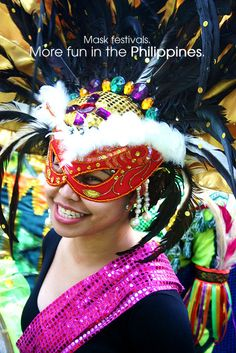 MASK FESTIVALS. More FUN in the Philippines!
