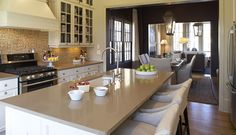 KOHLER | Kitchen | Atlanta Family Townhome | Idea Homes | Kitchen Ideas & Planning | Kitchen |