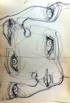 El boceto conlleva esas características manuales y humanas que hacen parte del proceso de participación