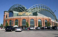 Miller Park. Milwaukee, WI. Best place in the world to watch a baseball game.