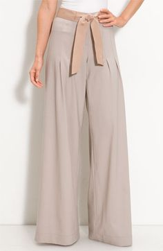 Elie Tahari Exclusive for Nordstrom 'Deanna' Pants | Nordstrom - StyleSays