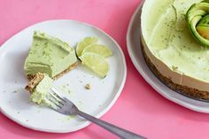 Raw Avocado Lime Tar