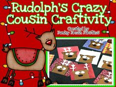 Rudolph's Crazy Cousin {we all have one}
