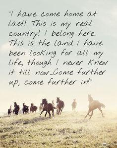 C S Lewis Narnia Quotes