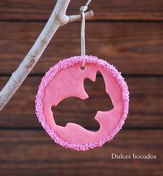 Dulces bocados: Galletas de conejo - Pascua