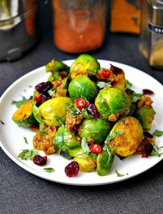 indian spiced brussels sprouts