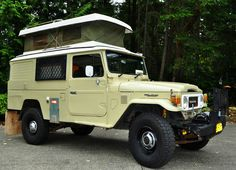 Amazing one off FJ Troopy with popup camper!