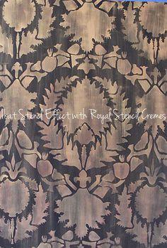 Wall Stencil | Silk Road Suzani Stencil | Royal Design Studio