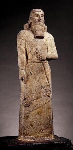 Statue  of Ashurnasirpal II 870 BCE, Assyrian