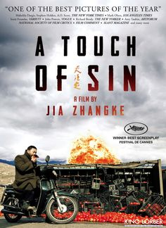 From director Jia Zhangke (Still Life, 24 City, The World), a portrait of modern China. Inspired by shocking and true events, the film focuses on four characters who are driven to violent ends.   Winner for best screenplay at the 2013 Cannes Film Festival.  Chinese, 130 min.  http://highlandpark.bibliocommons.com/search?utf8=%E2%9C%93t=smartsearch_category=keywordq=tian+zhu+dingcommit=Search