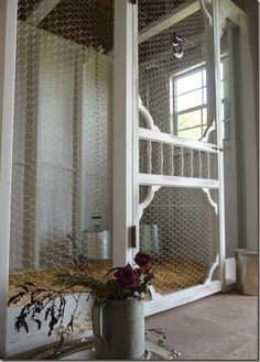 My chicken house needs an upgrade...love this!