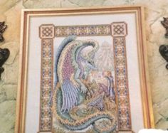 teresa wentzler cross stitch designs | The Story Teller - Dragon - Teresa Wentzler Cross Stitch Pattern ...