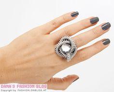 DIY Tutorial: Zipper Ring