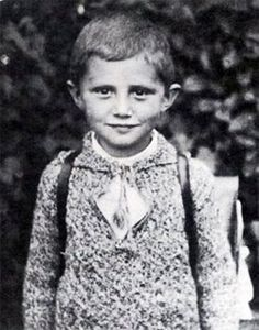 Young Pope Benedict XVI. So cute!