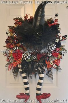 Super Cute Halloween Wreath