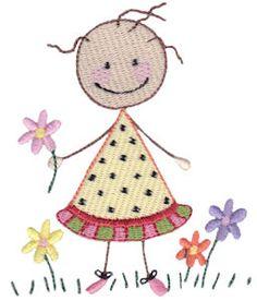 Nostalgia Stixs embroidery designs at Bunnycup Embroidery at http://www.bunnycup.com/embroidery/design/NostalgiaStixs