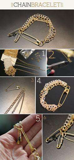 DIY Chain Bracelet