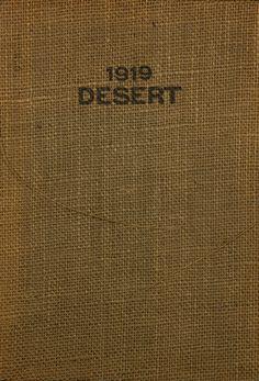 1919 Desert, University of Arizona Yearbook