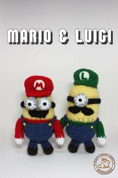 Amigurumi Mario Y Luigi : Amigurumi on Pinterest