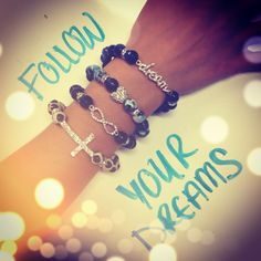 The bracelets of our dreams. #bracelet #dream #inspirational #Kohls