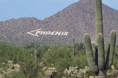 Phoenix air marker, Usery Mountains, Arizona