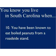 Love boiled peanuts!