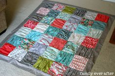 Family Ever After....: {Ruffle-Top Quilt Along} Piecing the Quilt Top