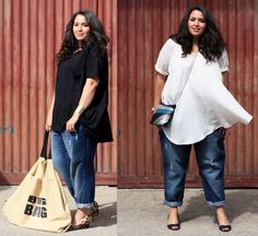 Time for Fashion » Looks de street style para tallas grandes – Street style looks for plus-size girls street style, curva xxl