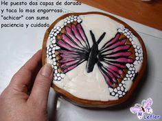 CLAY CRAFTS MT: BUTTERFLY CANE