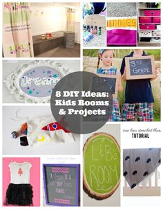 8 DIY Kids Room Decor and Project Ideas with @Handmade Charlotte stencils and #folkartmulti paint